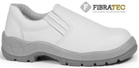 Sapato (Bracol) Bidensidade | MICROFIBRA | Branco | Biqueira de Aço ou PVC