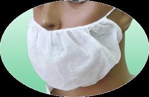Protetor de Barba | em TNT | Pacote com 25 und