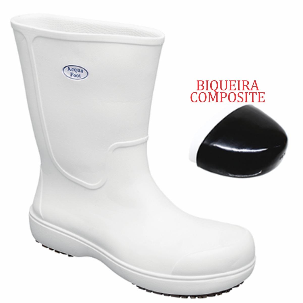 Bota (SoftWorks) Acqua Foot - Branca ou Preta