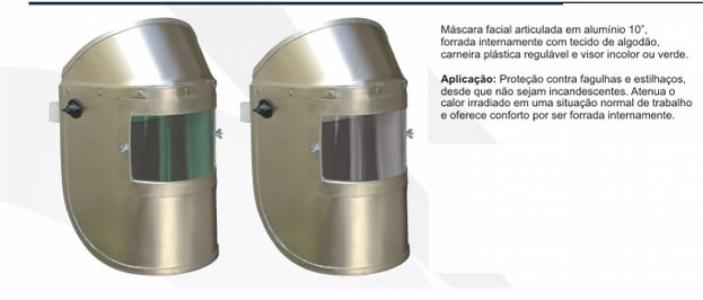 Protetor Facial   Master   Aluminizado