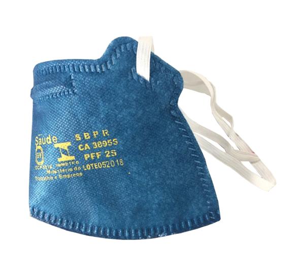 Respirador | AIR SAFETY | Descartável | tipo dobrável