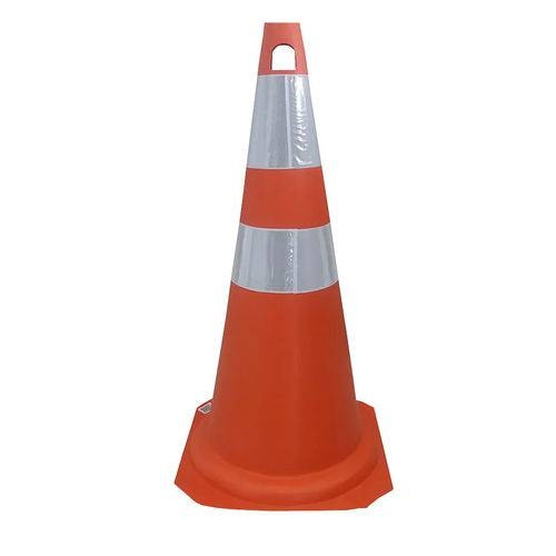 Cone | Refletivo | Flexível | 75 cm