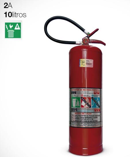 Extintor de Água | 10 Litros | (2A)