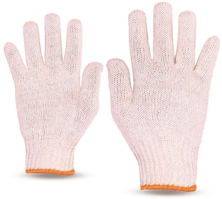 Luva tricotada 4 fios - Mesclada ou Branca