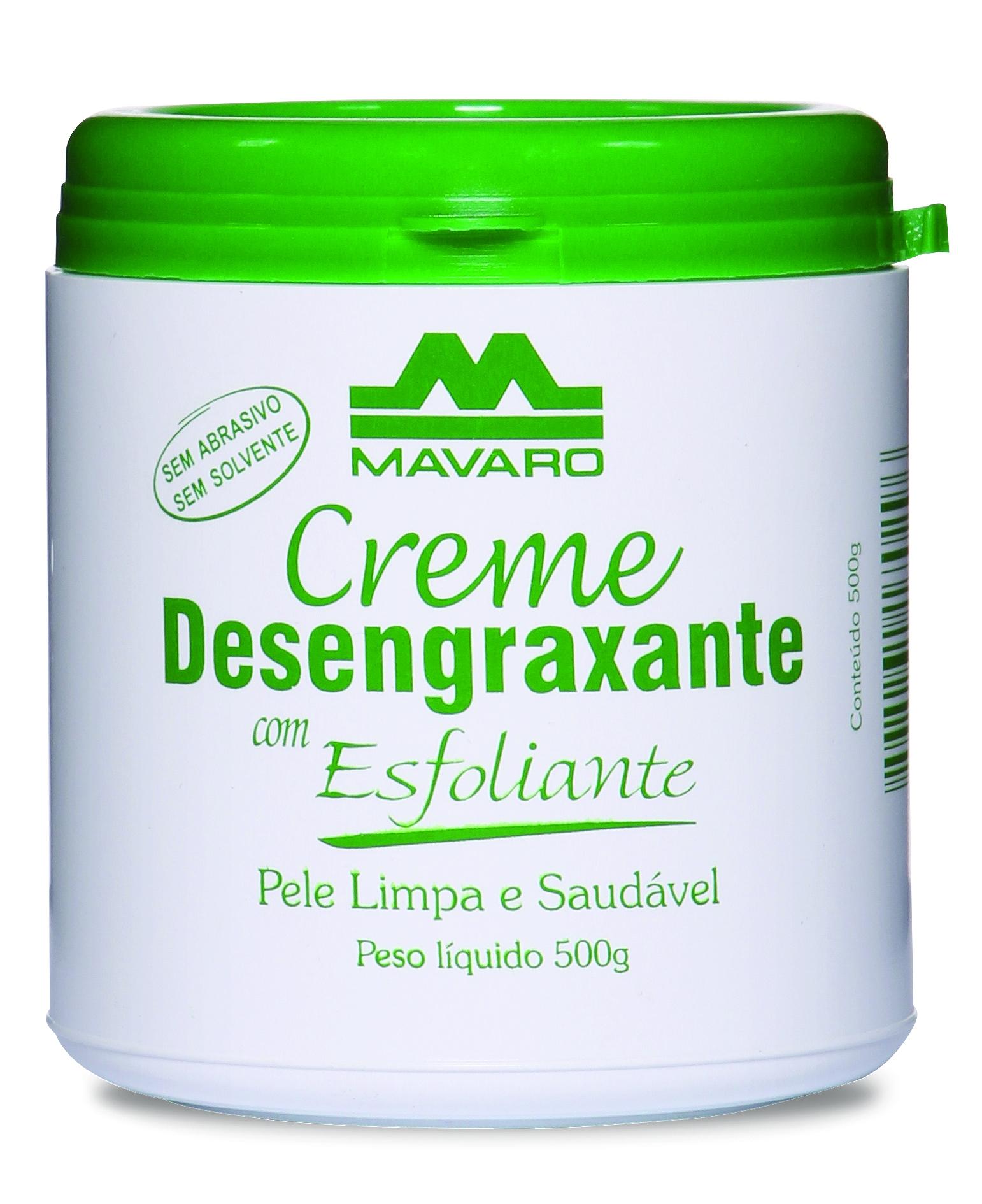 Creme Desengraxante (Mavaro) com esfoliante 500grs