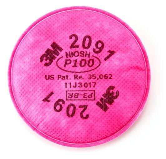 Filtro   3M   Ref.2091 P100