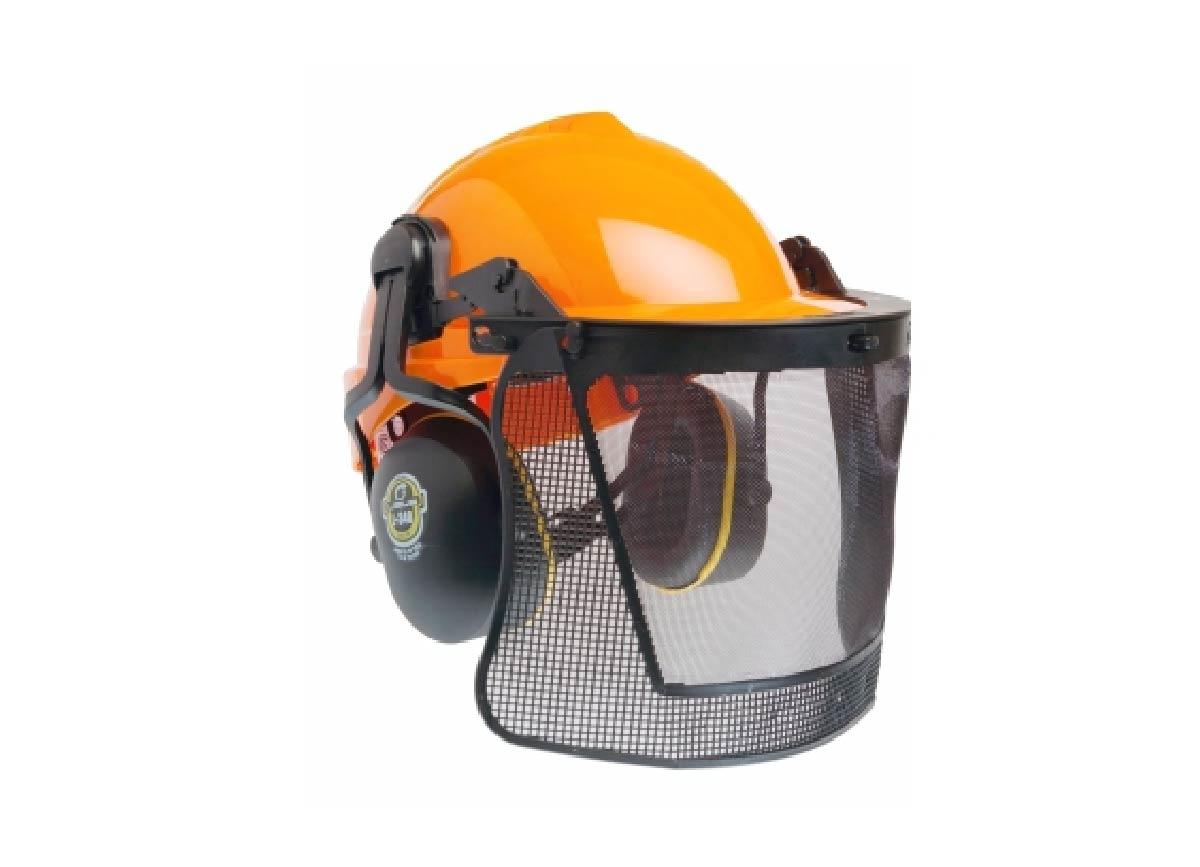 Conjunto Para Proteção Da Cabeça, Facial E Auditiva