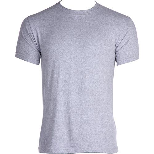 Camiseta de Malha   Mesclada