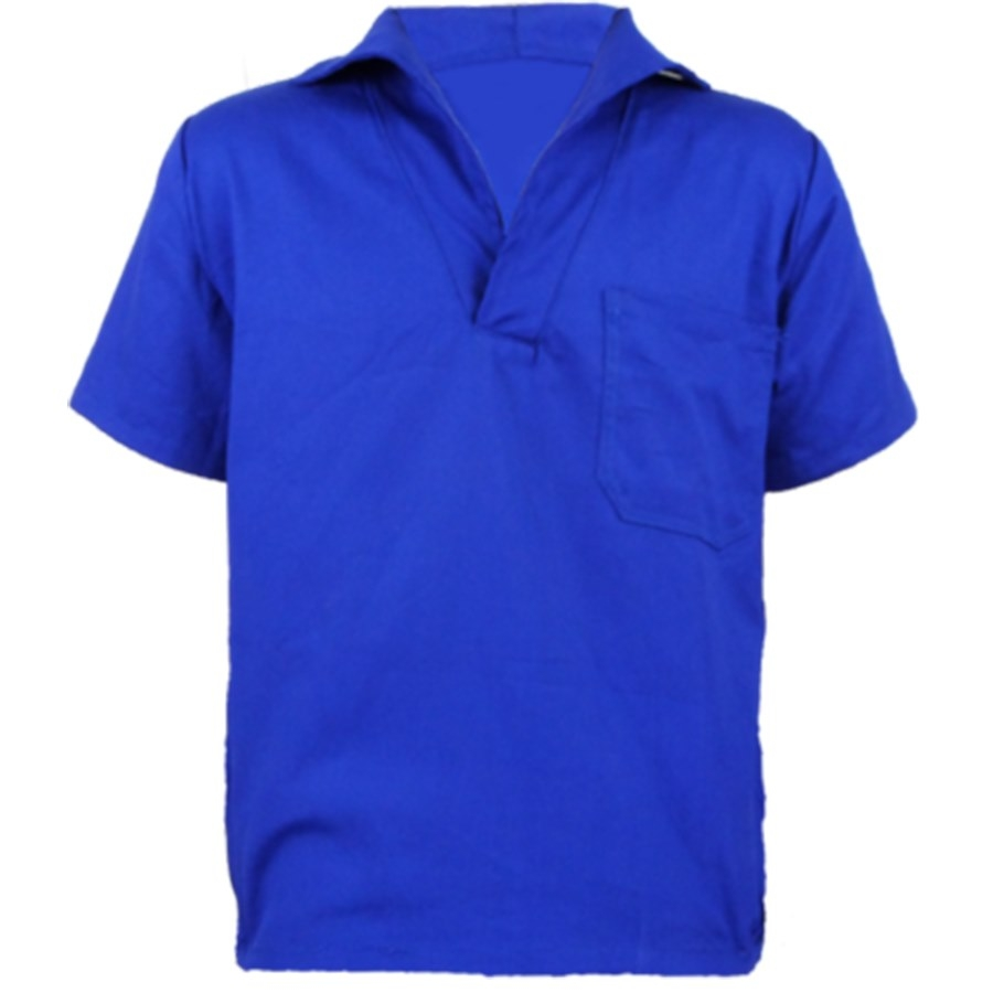 Camisa de Brim   Manga Curta ou Longa