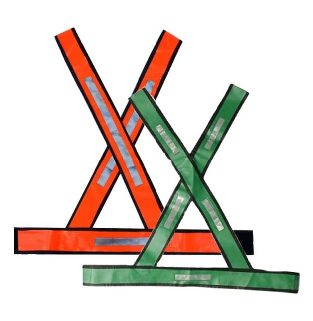 Colete Refletivo X   Plastcor