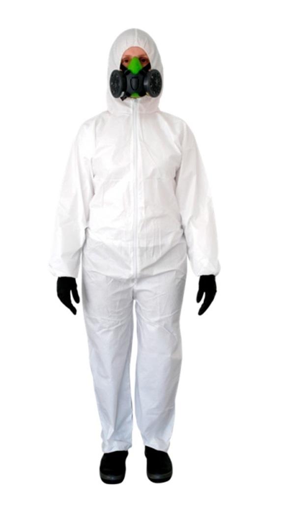 Macacão em TNT   Branco